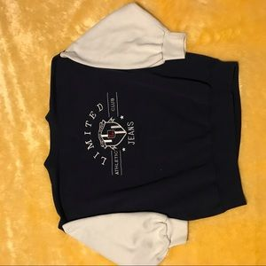 Vintage limited jeans sweater